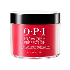 OPI Powder Perfection Coca-Cola Red 1.5 oz