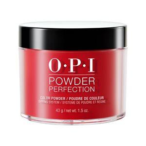 OPI Powder Perfection Big Apple Red 1.5 oz