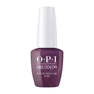OPI Gel Color Boys Be Thistle-ing at Me 15ml Scotland -