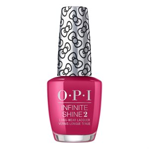 OPI Infinite Shine All About the Bows 15ml Hello Kitty