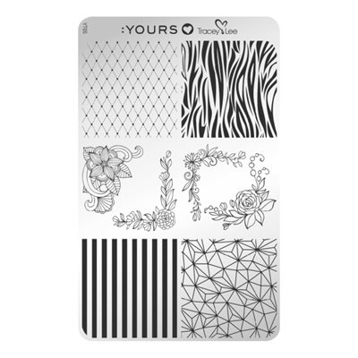 YOURS Loves Tracy Lee DESIGN MEDLEY Plaquette