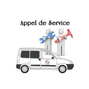 APPEL DE SERVICE (voir Description pour detail) +