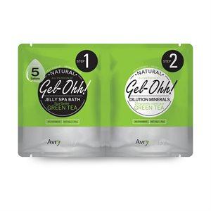 AVRY Gel-Ohh Jelly Spa Pedi Bath - Thé vert