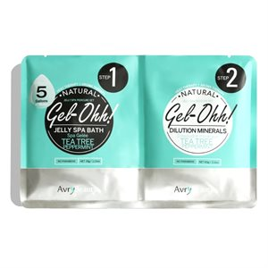 AVRY Gel-Ohh Jelly Spa Pedi Bath - Arbre à thé et menthe poivrée