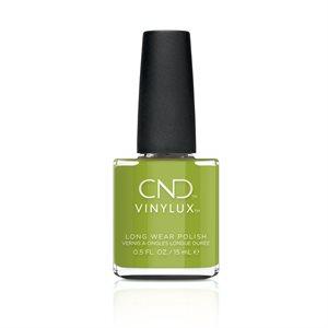 CND VINYLUX #363 CRISP GREEN 0.5oz Autumn Addict -