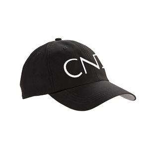 CND Casquette Noire ajustable avec Velcro -