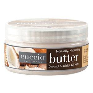 Cuccio mezcla de mantequilla Coco y Gengibre blanco 8 oz