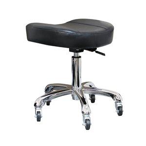 Black Stool without Backrest -