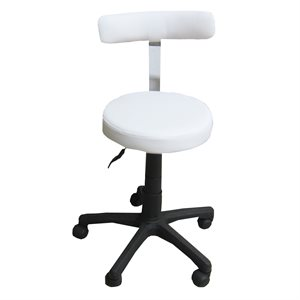 PNEUMATIC CHAIR WITH SMALL BACK -