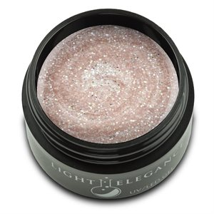 Light Elegance A Couple of Coconuts UV / LED Glitter Gel 17ml (Summer Squeeze)