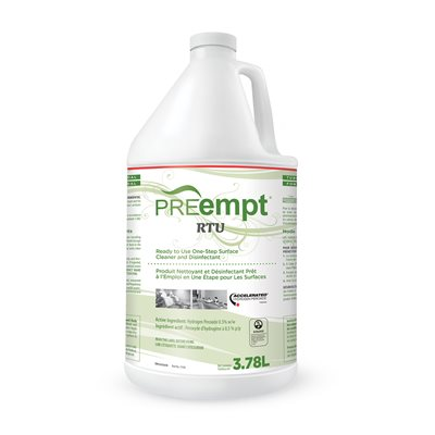 Virox PreEmpt RTU ready to use One-Step Surface 1 gallon