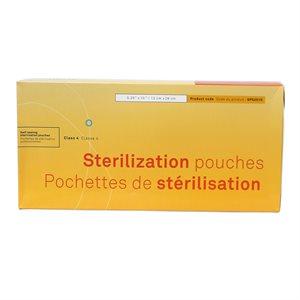 STERILISATION POUCHES 5.25''X10'' (200) +