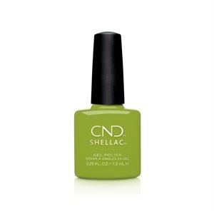 CND SHELLAC #363 CRISP GREEN 0.25oz (Autumn Addict) -