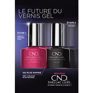CND Shellac Luxe Poster -