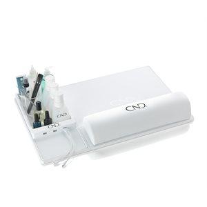 CND Caddie Repose main Blanc avec 3 Ports USB -